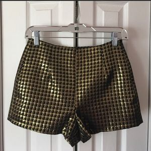 Madison Montgomery AHS Gold Black Small Shorts